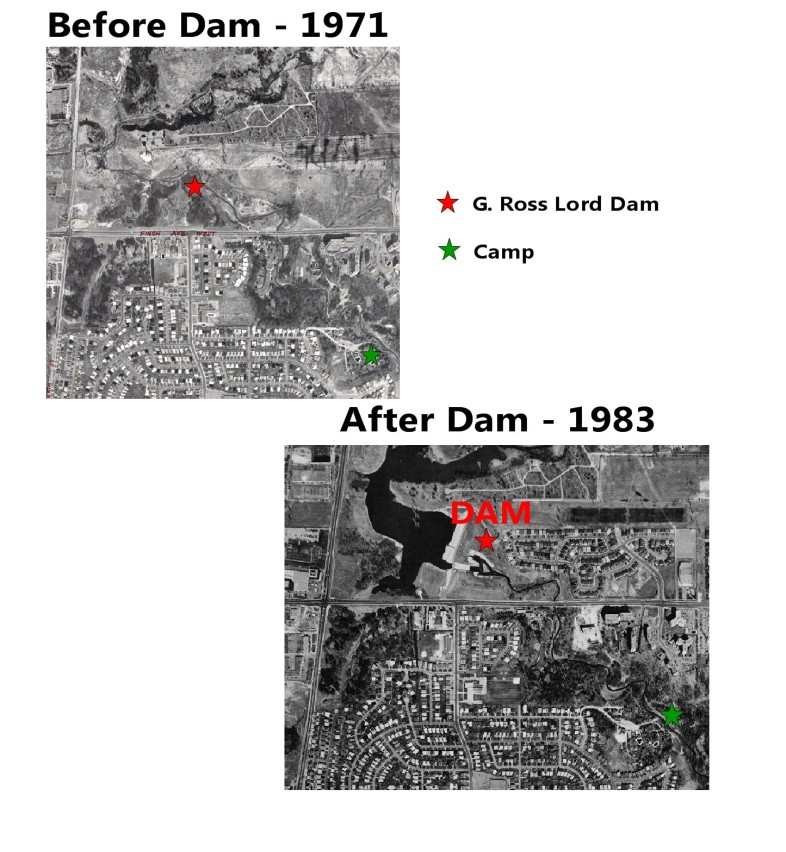 Before After Dam